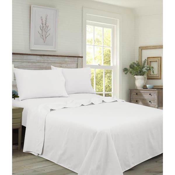 Cotton Queen Sheet Set H92d46 092 0100, 100 Cotton Queen Bed Sheet Set
