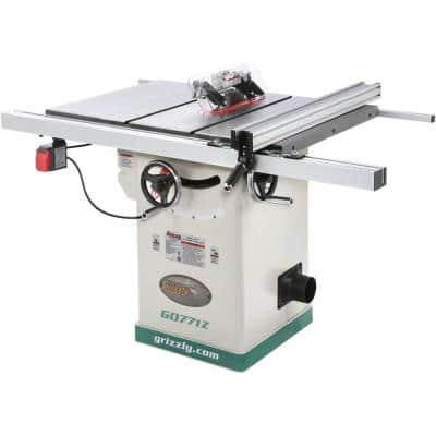 10 in. 2 HP 120-Volt Hybrid Table Saw with T-Shaped Fence
