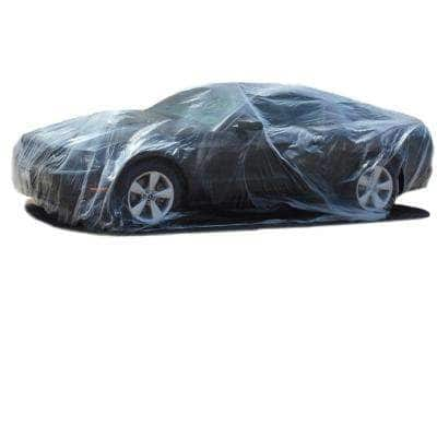 Universal Cover Plastic 264 in. x 144 in. x 53 in. Car Cover