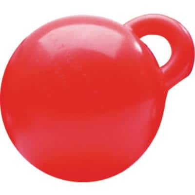 8 in. Dia Personal Watercraft Buoy, Neon Red