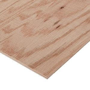 1/2 in. x 2 ft. x 4 ft. Rough Sawn Red Oak Plywood Project Panel
