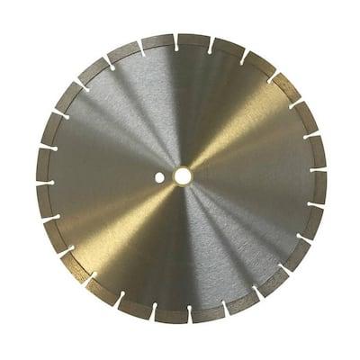 14 in. Segmented Diamond Saw Blade for Concrete and Masonry 12 mm Segment Height