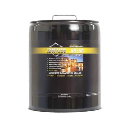 5 gal. Solvent Based Acrylic Wet Look Concrete Sealer and Paver Sealer