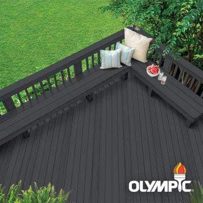 Rescue It 3 gal. Mystic Black Deck Resurfacer and Primer with Sealant