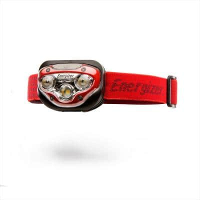 LED AAA Headlamp with HD Vision Optics, 3 modes Flashlight 50 Hour Run Time, 200 Lumens (Batteries Included)