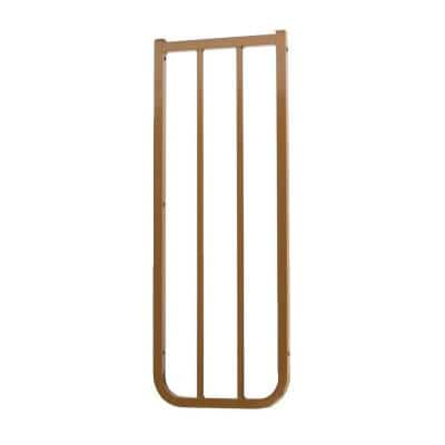 10-1/2 in. Extension for Stairway Special Outdoor Safety Gate in Brown