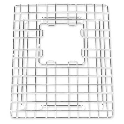 SinkSense Ashbee 11.5 in. x 13.25 in. Kitchen Sink Bottom Grid in Stainless Steel
