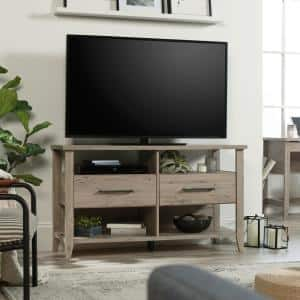 Summit Station 47 in. Laurel Oak Wood TV Stand with 2 Drawer Fits TVs Up to 50 in. with Built-In Storage