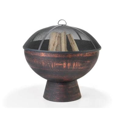 26 in. Steel Fire Bowl with Spark Screen