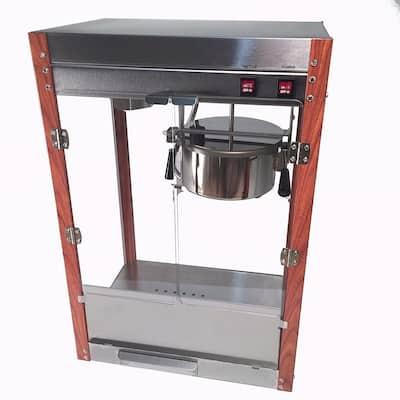 1971 Pastime Pop 8 oz. Popcorn Machine with Faux Wood Corner Posts