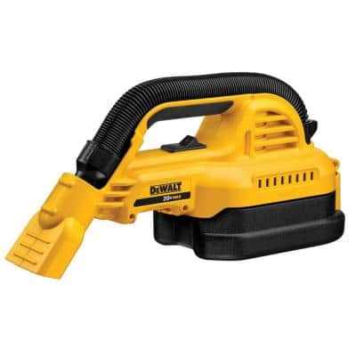 20-Volt MAX Cordless 1/2 Gal. Wet/Dry Portable Vacuum (Tool-Only)