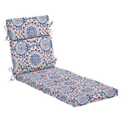 22 in. x 25 in. Outdoor Chaise Lounge Cushion in Clark