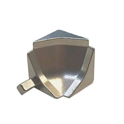Internal Angle NSM and NS4M Natural 2-3/4 in. x 9/16 in. Complement Stainless Steel Tile Edging Trim