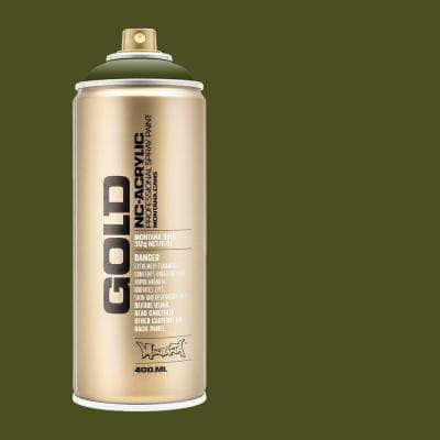 11 oz. GOLD Spray Paint, Olive Green