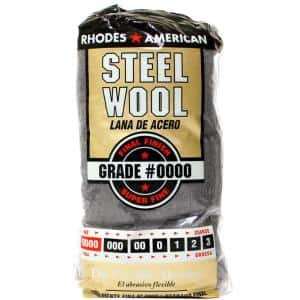 #4/0 12 Pad Steel Wool, Super Fine Grade