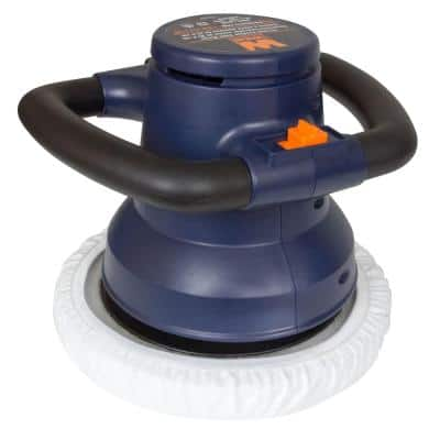 120-Volt 10 in. Waxer/Polisher in Case with Extra Bonnets