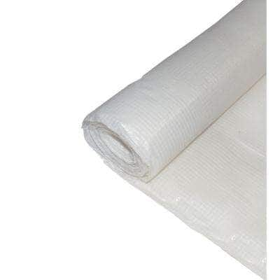 40 ft. W x 100 ft. L Woven Reinforced String Plastic Sheeting Great for Vapor Barrier, Crawl Space Under Floor