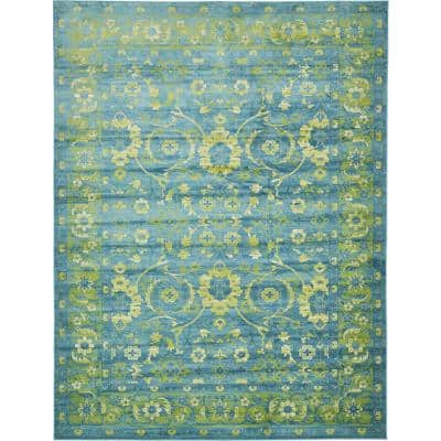 Imperial Ottoman Blue 13' 0 x 19' 8 Area Rug