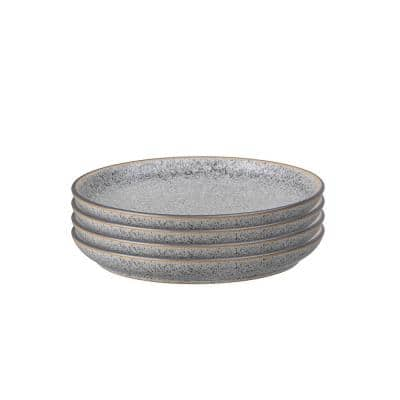 Studio Grey Medium Coupe Plate (Set of 4)