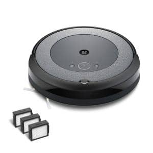 Roomba i3 (3150) Wi-Fi Connected Robotic Vacuum Cleaner with  (3-Pack) Roomba e and i Series High-Efficiency Filters