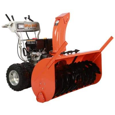 45 in. Commercial 420 cc Electric Start 2-Stage Gas Snow Blower with Headlight, Bonus Drift Cutters and Clean-Out Tool