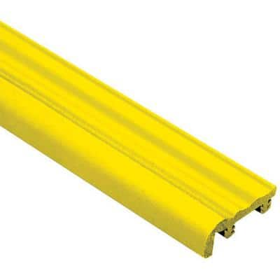 Trep-S Yellow 1-1/32 in. x 8 ft. 2-1/2 in. Thermoplastic Rubber Replacement Insert