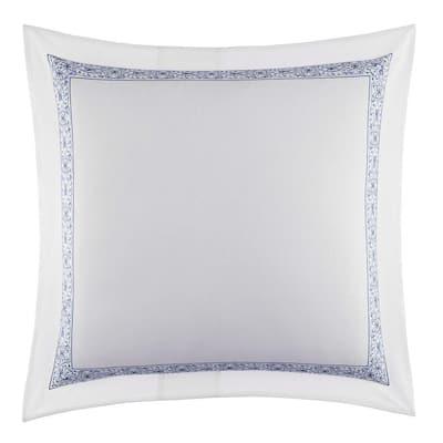 ED Dream 1-Piece White Solid Linen European Sham