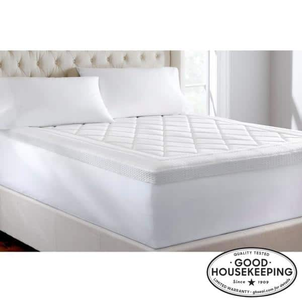 Home Decorators Collection 3 In, Can You Put A Full Size Mattress Topper On Queen Bed
