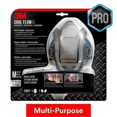 Pro Medium Multi-Purpose Respirator with Quick Latch