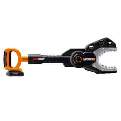 POWER SHARE 20-Volt 6 in. Lithium-Ion Cordless Jaw Saw Chainsaw