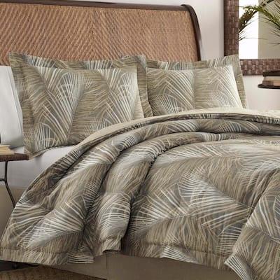 Raffia Palms Cotton Comforter Set