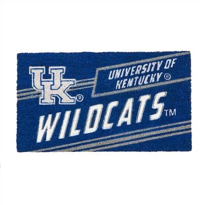 16 in. x 28 in. University of Kentucky Coir Punch Mat