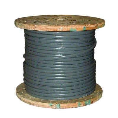 500 ft. 2-2-2 Gray Stranded AL SEU Cable
