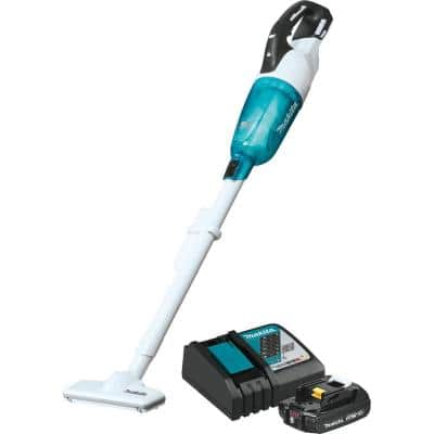18-Volt LXT Lithium-Ion Compact Brushless Cordless Vacuum Kit, 2.0 Ah