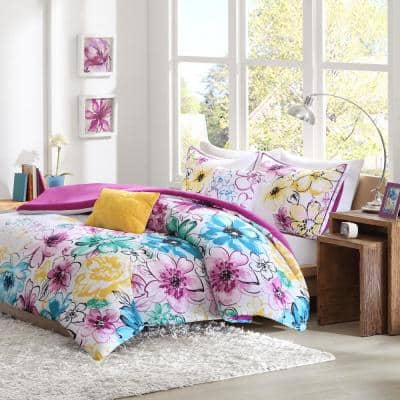 Ashley Floral Comforter Set