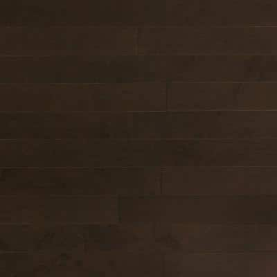 Maple Midnight 3/4 in. Thick x 4 in. Wide x Random Length Solid Real Hardwood Flooring (21 sq. ft. / case)