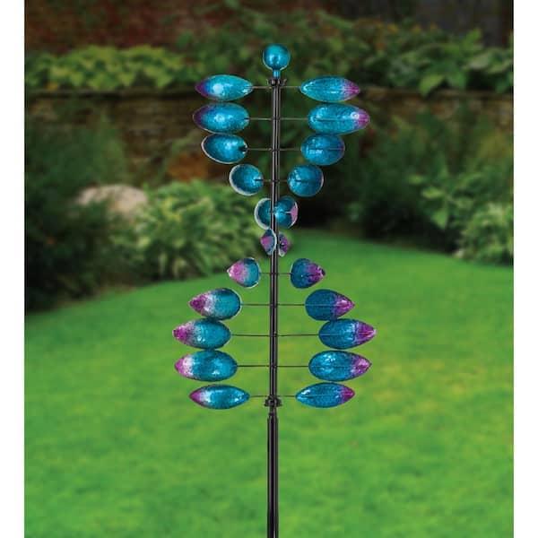 Regal Vertical Wind Spinner Helix 12255, Wind Spinners For Garden