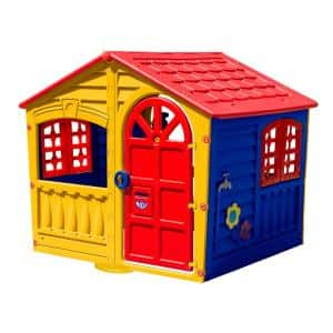 PalPlay House of Fun Playhouse in Yellow