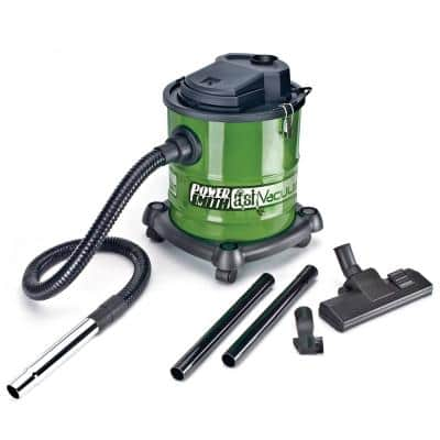 10 Amp 3 Gal. All-In-One Wheeled Ash/Shop Vacuum with Metal Lined Hose, Washable Filter and 5 Accessory Nozzles