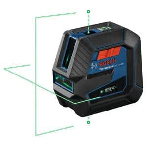 100 ft. Green Combination Laser Level Self Leveling with VisiMax Technology, Fine Adjustment Mount & Hard Carrying Case