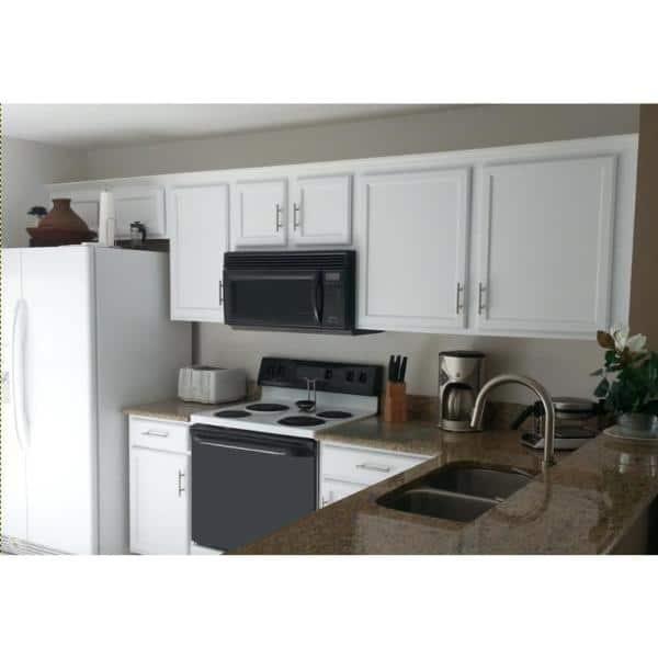 Reviews For Cabinet Rescue 31 Oz Melamine Laminate Cabinet Paint Dt43 The Home Depot