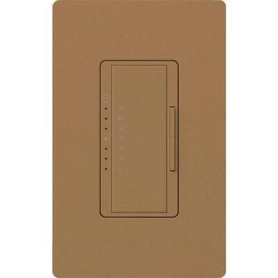 Maestro 5 Amp 600-Watt Light/3 Amp In-Wall Fan Digital Timer - Midnight