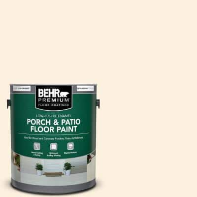 Behr Premium 1 Gal Pwn 61 Oriental Silk Low Lustre Enamel Interior Exterior Porch And Patio Floor Paint 605001 The Home Depot