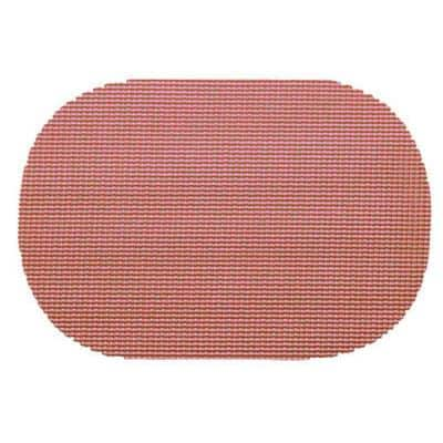 Orchid Fishnet Oval Placemat (Set of 12)