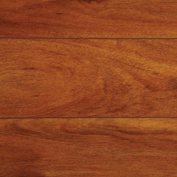 Trafficmaster High Gloss Jatoba 8 Mm, Home Depot High Gloss Laminate Flooring
