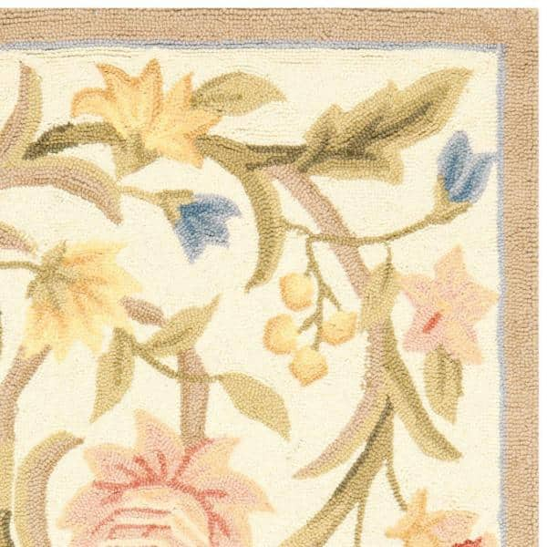 Safavieh Chelsea Ivory 3 Ft X 5 Ft Area Rug Hk248a 3 The Home Depot
