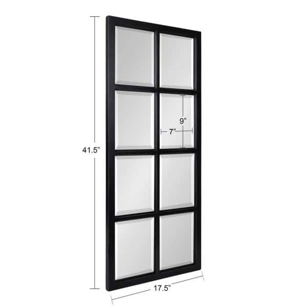 Kate and Laurel Hogan 42 in. x 18 in. Classic Rectangle Framed ...