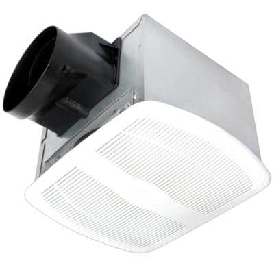 ENERGY STAR® Certified Deluxe Quiet 100 CFM Humidity Sensing Ceiling Bathroom Exhaust Fan