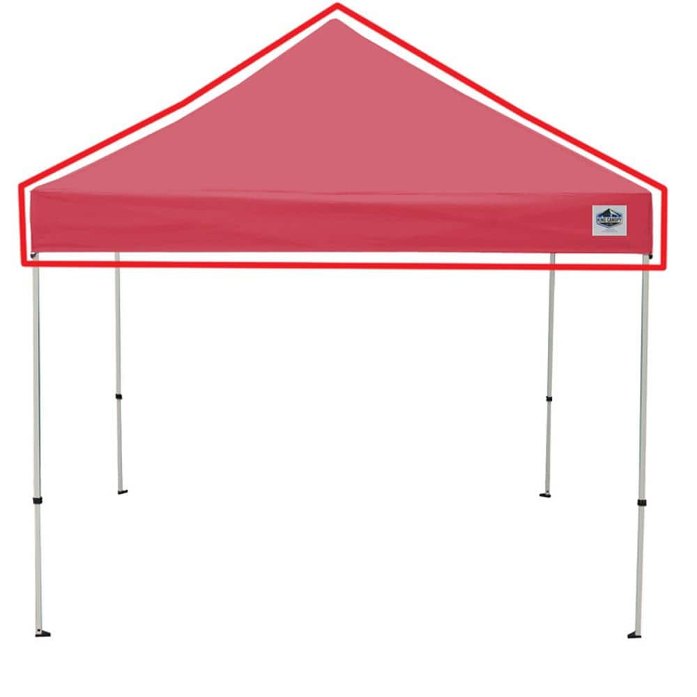 King Canopy Universal Red Cover For 10 Ft X 10 Ft Instant Pop Up Tent Inat10rd The Home Depot