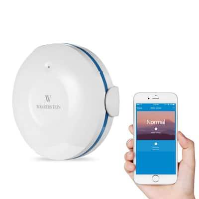 Smart Wi-Fi Water Sensor, Flood and Leak Detector Alarm and App Notification Alerts